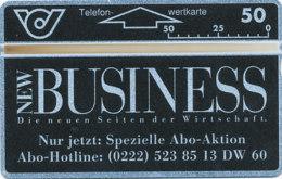 ÖSTERREICH Schalter Telefonkarte Nr. 47 New Business - 212 D -  Auflage  50 000 Stück - Siehe Scan -10840 - Oesterreich