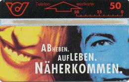 ÖSTERREICH Schalter Telefonkarte Nr. 53 BASTA - 341 B -  Auflage  100 000 Stück - Siehe Scan -10843 - Oesterreich