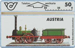 ÖSTERREICH Schalter Telefonkarte Nr. 60 Lokomotive - Austria - 307 B -  Auflage  17 000 Stück - Siehe Scan -10846 - Oesterreich