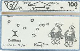 ÖSTERREICH Schalter Telefonkarte Nr. 56 Kumpf-Zwillinge - 302 E -  Auflage  100 000 Stück - Siehe Scan -10845 - Oesterreich