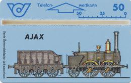 ÖSTERREICH Schalter Telefonkarte Nr. 62 Lokomotive - Ajax - 307 F -  Auflage  100 000 Stück - Siehe Scan -10847 - Oesterreich