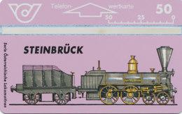 ÖSTERREICH Schalter Telefonkarte Nr. 63 Lokomotive - Steinbrück - 308 A -  Auflage  100 000 Stück - Siehe Scan -10848 - Oesterreich