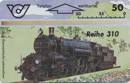 ÖSTERREICH Schalter Telefonkarte Nr. 66 Lokomotive - Reihe 310 - 309 C -  Auflage  100 000 Stück - Siehe Scan -10849 - Oesterreich