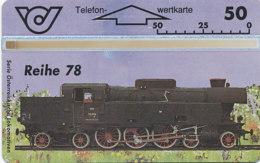 ÖSTERREICH Schalter Telefonkarte Nr. 67 Lokomotive - Reihe 78 - 309 G -  Auflage  100 000 Stück - Siehe Scan -10850 - Oesterreich