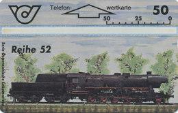 ÖSTERREICH Schalter Telefonkarte Nr. 72 Lokomotive - Reihe 52 - 400 A -  Auflage  100 000 Stück - Siehe Scan -10851 - Oesterreich