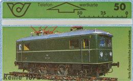 ÖSTERREICH Schalter Telefonkarte Nr. 76 Lokomotive - E-Lok Reihe  - 400 A - Auflage  100 000 Stück - Siehe Scan -10852 - Oesterreich