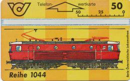 ÖSTERREICH Schalter Telefonkarte Nr. 90 Lokomotive -E- Reihe 1044  - 401 A - Auflage  20 000 Stück - Siehe Scan -10854 - Oesterreich