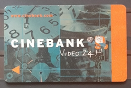 TARJETA CINEBANK - VIDEO 24 H. - Otras Colecciones