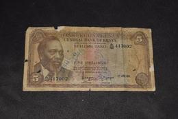 5 Shillings 1971 - Kenya
