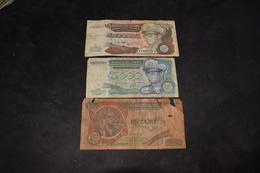 5 000 000 Zaïres 1992, 5000 Zaïres 1988, 1 Zaïre 1976 - Zaire