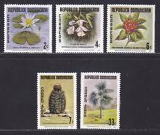 DOMINICAINE N°  811 à 813, AERIENS 304 & 305 ** MNH Neufs Sans Charnière, TB (D9040) Plantes Du Jardin Botanique - 1977 - Dominikanische Rep.
