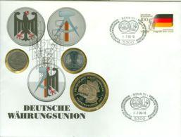 Medaille Deutsche Währungsunion 1990 Numisbrief - Sonstige