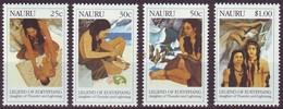 Nauru, 1990, Legend Of Eoiyepiang, Set, MNH, Mi# 371/74 - Nauru