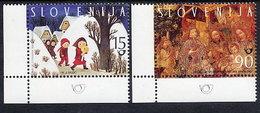 SLOVENIA 1998 Christmas MNH / **.  Michel 240-41 - Slovénie