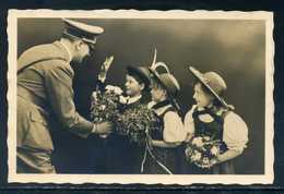 Ostmark/Wien; AK - Adolf Mit Kinder; Sonderstempel 50. Geburtstag Des Führers, 1939 - Politische Und Militärische Männer