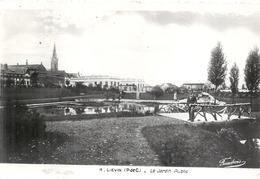 PAS DE CALAIS - 62 - LIEVIN - La Jardin Public - CPSM PF NB - Lievin