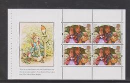 1993 DP196 From DX15 Beatrix Potter Prestige Booklet , MNH (below FV) - Markenheftchen