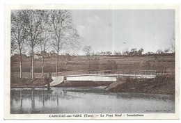 Cahuzac Sur Vère Le Pont Neuf Innondations - France