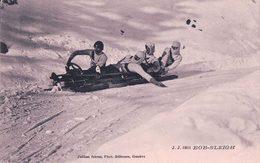 Sport D'Hiver, Bob-Sleigh (9103) Léger Pli - Sports D'hiver