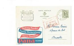 Publibel 1334 - PANO - 0240 - Entiers Postaux