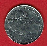 Italien 1981 // 100 Lire // Umlaufmünze - 1946-… : République