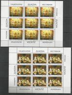 9x MACEDONIA - MNH - Europa-CEPT - Art - 1998 - Europa-CEPT