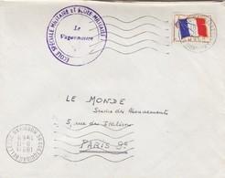 LETTRE. FM.  ECOLE SPECIALE MILITAIRE ET ECOLE MILITAIRE COETQUIDAN 1968  / 2 - Storia Postale