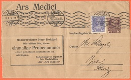AUSTRIA - ÖSTERREICH - 1916 - 3 + 2 Heller - Ars Medici - Bande Journal, Wrapper - Intero Postale - Entier Postal - Post - Dagbladen