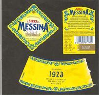 ITALIA - Etichetta Birra Beer Bière MESSINA (veliero) - Birra
