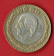 Mexiko 1993 // 20 N Dollar // Umlaufmünze - Mexico