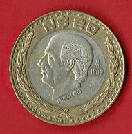 Mexiko 1993 // 20 N Dollar // Umlaufmünze - Mexiko