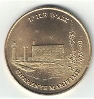 Monnaie De Paris 17. ILE D'AIX - Charente Maritime 1998 - Monnaie De Paris