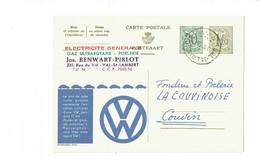 Publibel 1511 - VOLKSWAGEN - 0243 - Stamped Stationery