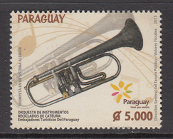 2015 Paraguay Trumpet Horns Music Complete Set Of 1  MNH - Paraguay
