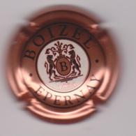 Capsule Champagne BOIZEL ( 21d ; Rosé écriture Noire ) {S20-19} - Champagne