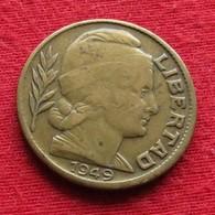 Argentina 20 Centavos 1949 KM# 42  Argentine - Argentina