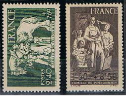 (1F 52) FRANCE // YVERT 585 + 586 // 1943    NEUF - France