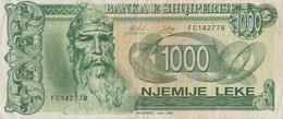 Albanie / 1000 Leke / 1995 / P-61(a) / VF - Albania