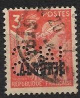 Algérie-N°236 Perforé S.M-Ancoper S.M 34 - France
