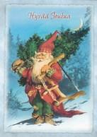 Postal Stationery - Elf Christmas Tree - Finnish Mental Health Society - Suomi Finland - Postage Paid - Raimo Partanen - Finland