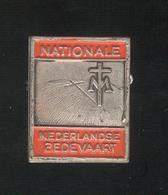 Badge De Pelerinage Pays-Bas - Nederland Bedevaart - Emaillé - Très Bon état - Religion &  Esoterik