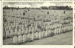 Poelkapelle -- Cimetière Militaire Anglais.   ( 2 Scans ) - Langemark-Poelkapelle