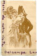 - Belle Carte - Illustrateur, Signée E Bottaro, Couple Classe, Précurseur, Chapeaux Magnifiques,  Scans. - Bottaro