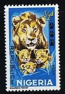Lionne / Lionceaux (Animaux) - Nigeria - 1965 - Nigeria (1961-...)