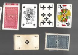 2 Jeux De 32 Cartes à Jouer Playing Cards Complet Sans Jocker Dans Leur Boîte PIQUET POKER N°1896 17 - Cartes à Jouer Classiques