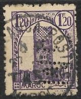Maroc-N°212 Perforé SM - France
