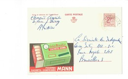 Publibel 2305F - POUDRES MANN - 0257 - Entiers Postaux
