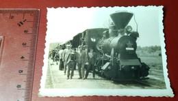 Vintage Photo Locomotive - Lokomotiva - Ferrovie