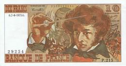 FRANCE - Billet De 10 Francs Berlioz 1975 Alphabet P.215 -  Neuf - 1962-1997 ''Francs''
