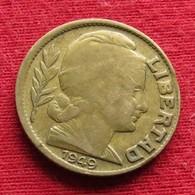 Argentina 10 Centavos 1949 KM# 41  Argentine Argentinie - Argentina